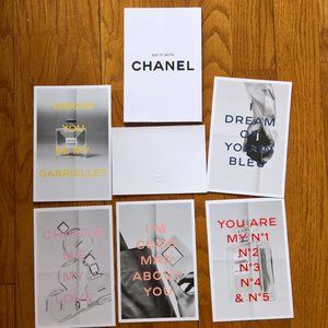 New Set of Say It With Chanel Scented Cards